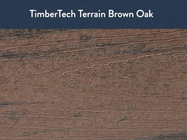 TimberTech Terrain Brown Oak