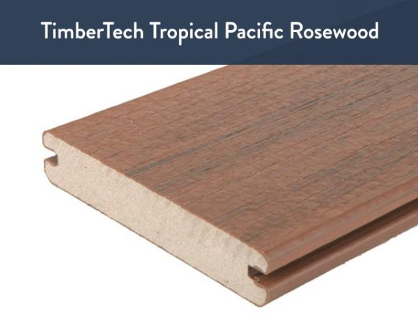 TimberTech Tropical Pacific Rosewood