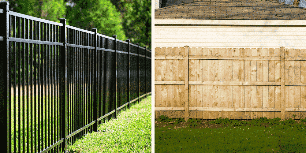 Maintenance-Free Outdoor Solutions can help you figure out which is the better option for you when it comes to an aluminum vs wood fence