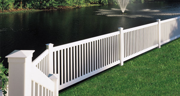 CertainTeed BuffTech Princeton Fence (great for pets)