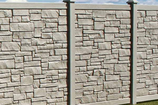 Allegheny™ Simulated Stone Fencing